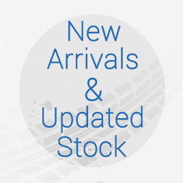 New Arrivals & Updated Stock