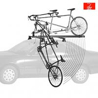 Roof Bar Mounted Cycle Carriers