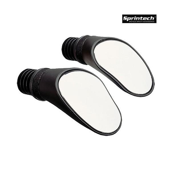 Sprintech Rear View Mirror Mirror Sprintech Drop Bar-lh Blk