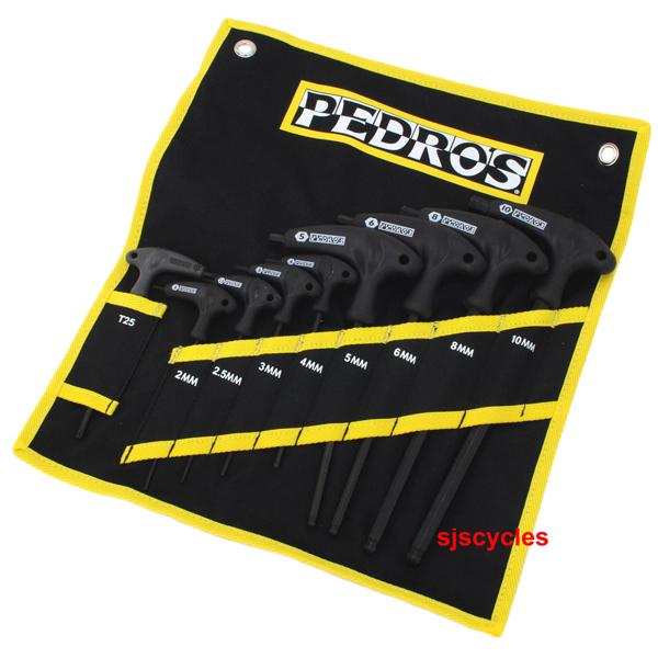 pedros pro t handle allen key set