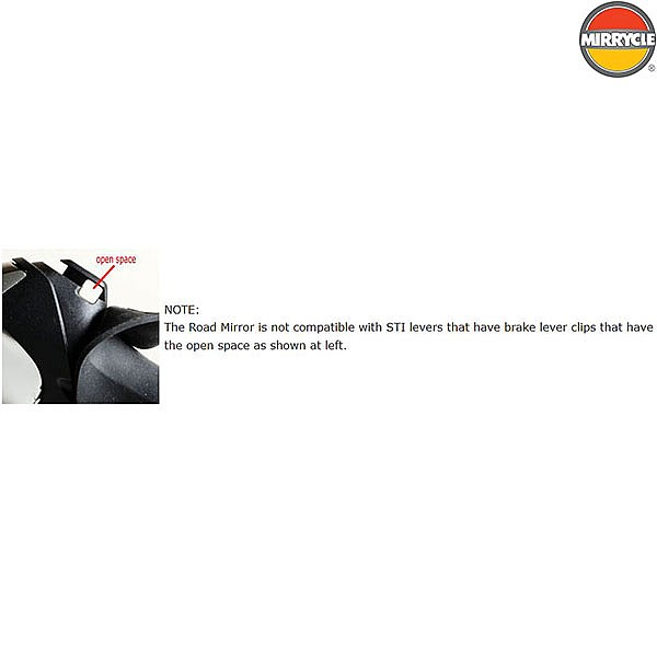 Mirrycle Road Mirror for STI Levers