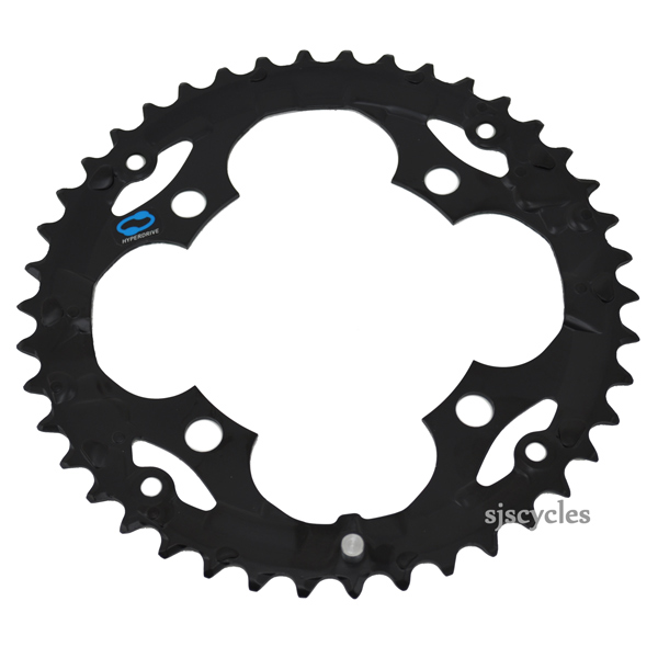 Shimano Alivio M415 32t 104mm 7//8-Speed Middle Chainring Silver