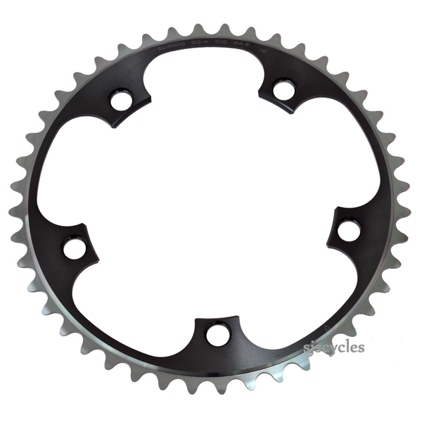 Shimano Dura-Ace FC-7900 Replacement Outer Chainring E-Type 130 BCD x 56T Black