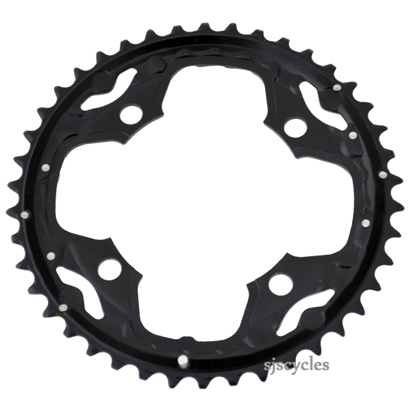 Shimano SLX M660-10 42t 104mm 10-Speed Outer Chainring Black