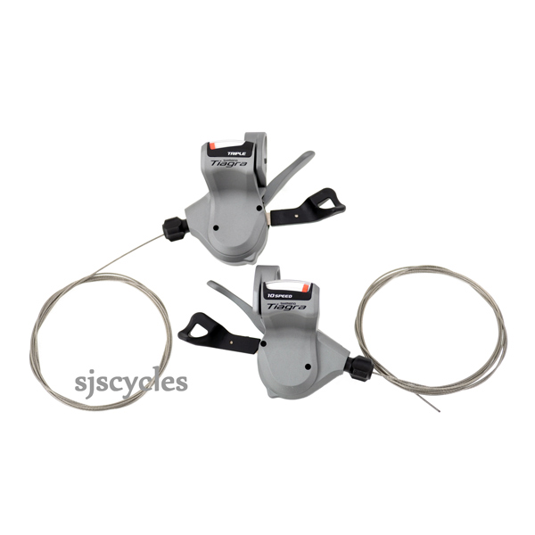Shimano Tiagra SL-4600 10 Speed Rapidfire Shift Levers for Flat Bar - Double