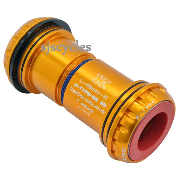 25 mm Shimano Crank set compatible Black KCNC PF30 Adaptor For 24