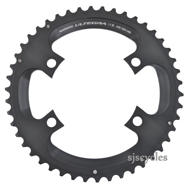 Black New Shimano Ultegra FC-6800 Replacement Inner Chainring 110 BCD x 36T