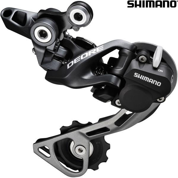 Shimano Deore RD-M615 10 Speed Shadow+ Rear Derailleur - Black
