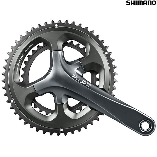Shimano Tiagra FC-4700 10 Speed Compact Double Chainset - 50/34T