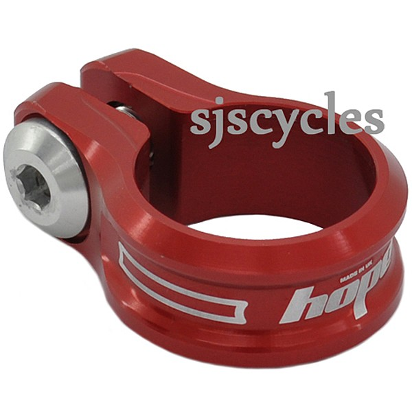 Hope Bolted Bike Seat Clamp Red
