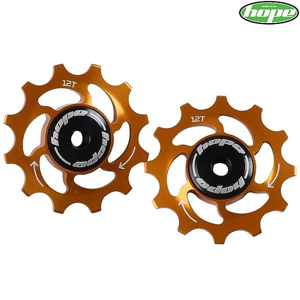 ed1299a4b3e Hope Jockey Wheels - 12 Tooth - Orange