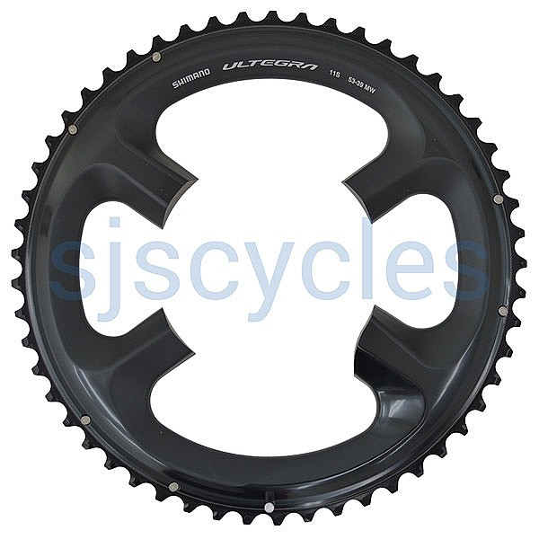 Shimano Ultegra FC-R8000 110mm BCD 4 Arm Outer Chainring - 53T-MW