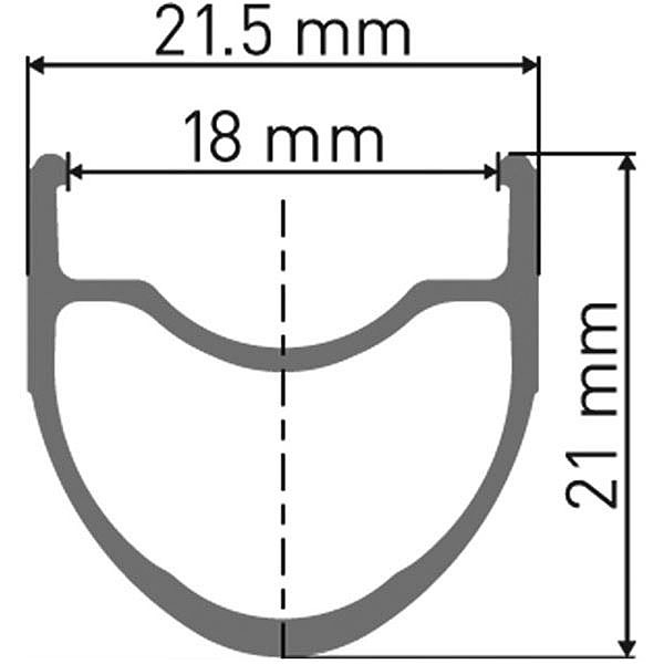 DT Swiss Tubeless Valve  RXMTB1 Road 32mm