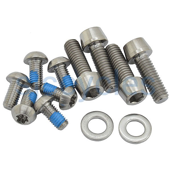 Hope Tech 3 / Race Evo Titanium Bolt Kit - HBSPC60