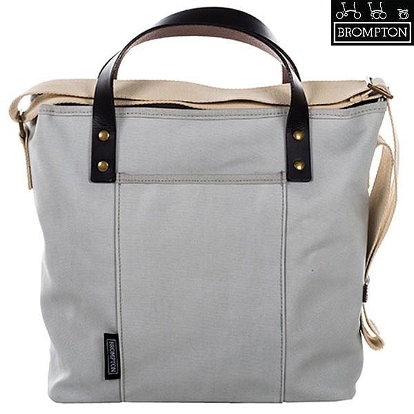 452f922c4bc Brompton Tote Bag c/w Cover & Frame - Grey - 9 Litre