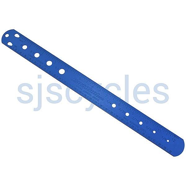 Park Tool SBC-1 Spoke ruler Cotter and Ball Bearing Gauge