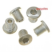 Triple Chainset Chainring Bolts for Inner Ring - Pack Of 5