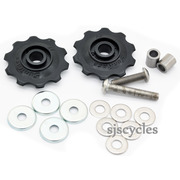 Brompton Standard Chain Tensioner Idler Wheel Set - For 1 and 3 Speed