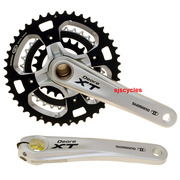 Shimano Deore XT FC-M770 9 Speed HollowTech II Triple Chainset - 44/32/22T