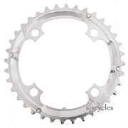 Shimano Deore FC-M530 104mm BCD 4 Arm Middle Chainring - Silver - 36T