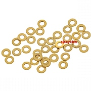 8BA Brass Washers for Spoke Heads - Pack Of 36