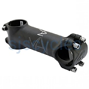 Cinelli Vai XL 1 1/8 Inch Ahead Stem +/-6 Deg - 31.8mm Clamp - Black
