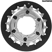 Shimano CS S500 Alfine Single Sprocket with Chain Guide