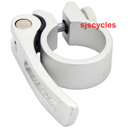 Tranz-X Quick Release Lever Seat Clamp Sand Blast Finish 30.0 mm - Silver