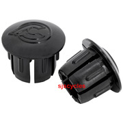 Cinelli Handlebar End Plugs - Black