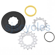 Brompton Sprocket/Disc set 13/16T BWR 6-spd , wide ratio