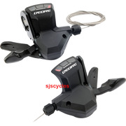 Shimano Deore SL-M590 9 Speed RapidFire Shift Lever Pods