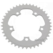 Thorn 110mm BCD 5 Arm Alloy Chainring - Silver