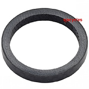 M:Part Headset Spacer - 1 Inch - Carbon - Black