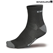 Endura BaaBaa Merino Sock - Twin Pack - Black