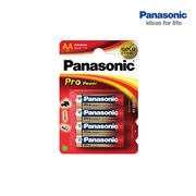 Panasonic AA LR6 Batteries - Pack of 4
