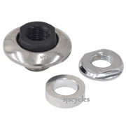 Shimano 105 FH-5600 Rear Left Lock Nut Unit - Y3CJ98050