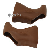 Dia Compe 165 replacement hoods fit MAFAC Weinmann CLB Shimano Brown