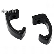 Dia-Compe Brake Clamps for Track Brakes - Aero Type for Carbon Forks