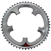 Shimano Ultegra FC-6703 130mm BCD 5 Arm Outer Chainring - Silver - 52T-D