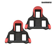 Shimano Dura-Ace SPD-SL PD-9000 SM-SH10 Cleat Set - Fixed - Red Pontoons