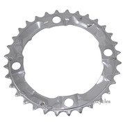 Shimano Alivio FC-M410 104mm BCD 4 Arm Middle Chainring - Silver - 32T