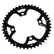 Shimano FC-M540 104mm BCD 4 Arm Outer Chainring - Black - 44T - For Chainguard
