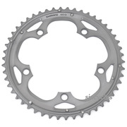 Shimano 105 FC-5703 130mm BCD 5 Arm Outer Chainring - Silver - 50T-D
