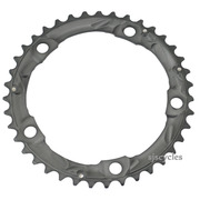 Shimano 105 FC-5703 130mm BCD 5 Arm Middle Chainring - Silver - 39T-D