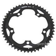 Shimano 105 FC-5703 130mm BCD 5 Arm Outer Chainring - Black - 50T-D