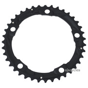Shimano 105 FC-5703 130mm BCD 5 Arm Middle Chainring - Black - 39T-D