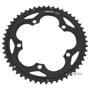 Shimano 105 FC-5700 130mm BCD 5 Arm Outer Chainring - Black - 52T-B