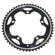 Shimano 105 FC-5600 130mm BCD 5 Arm Outer Chainring - B Type - Black - 53T