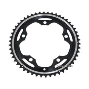 Shimano 105 FC-5600 130mm BCD 5 Arm Outer Chainring - B Type - Black - 50T
