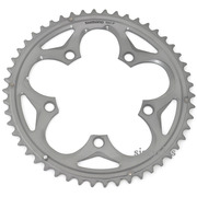 Shimano 105 FC-5750 110mm BCD 5 Arm Outer Chainring - F Type - Silver - 50T